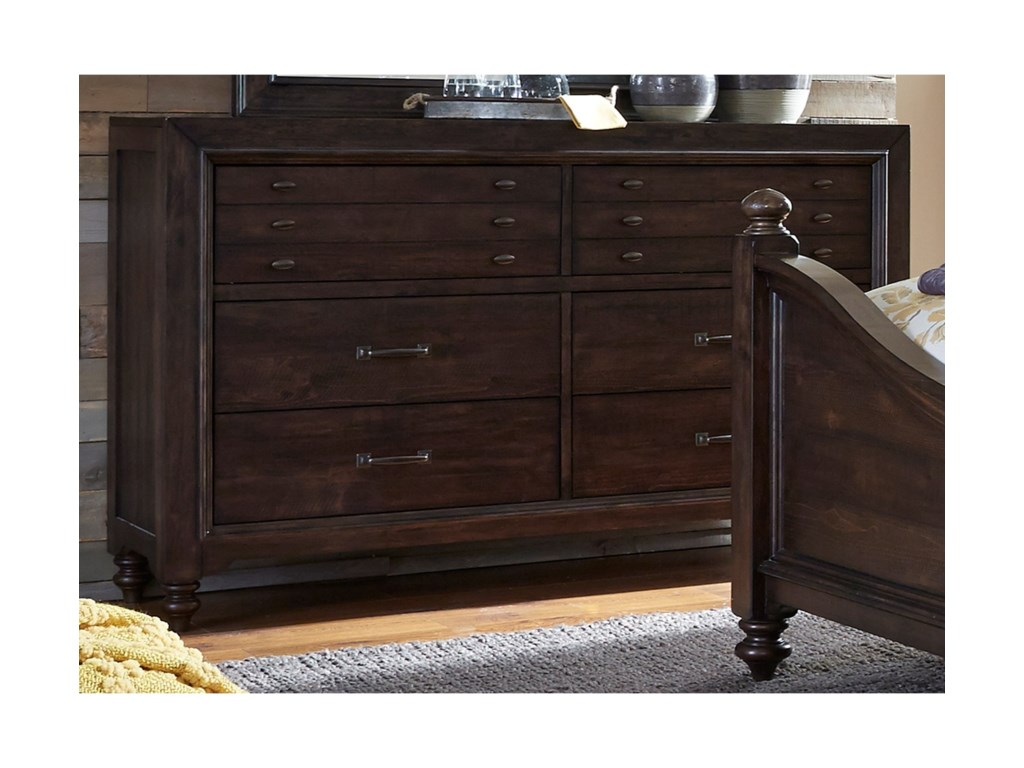 Liberty Furniture Catawba Hills Bedroom6 Drawer Dresser