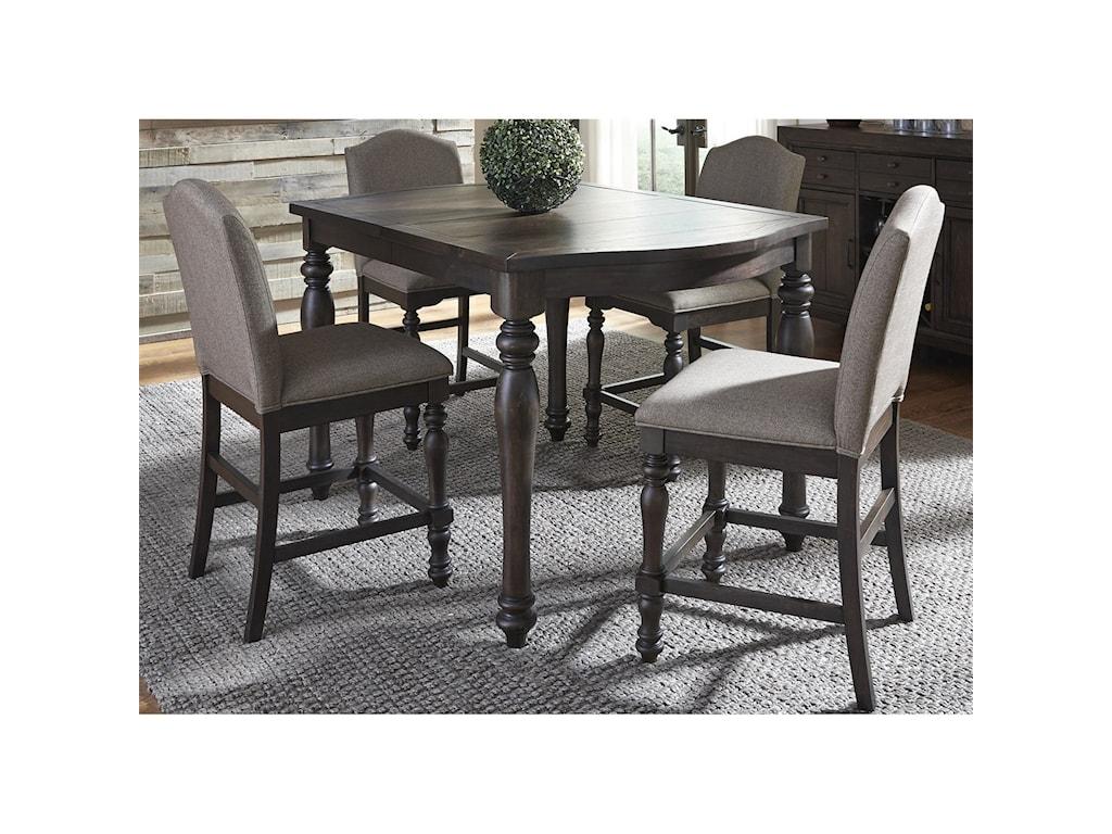 Liberty Furniture Catawba Hills Dining5 Piece Gathering Table Set
