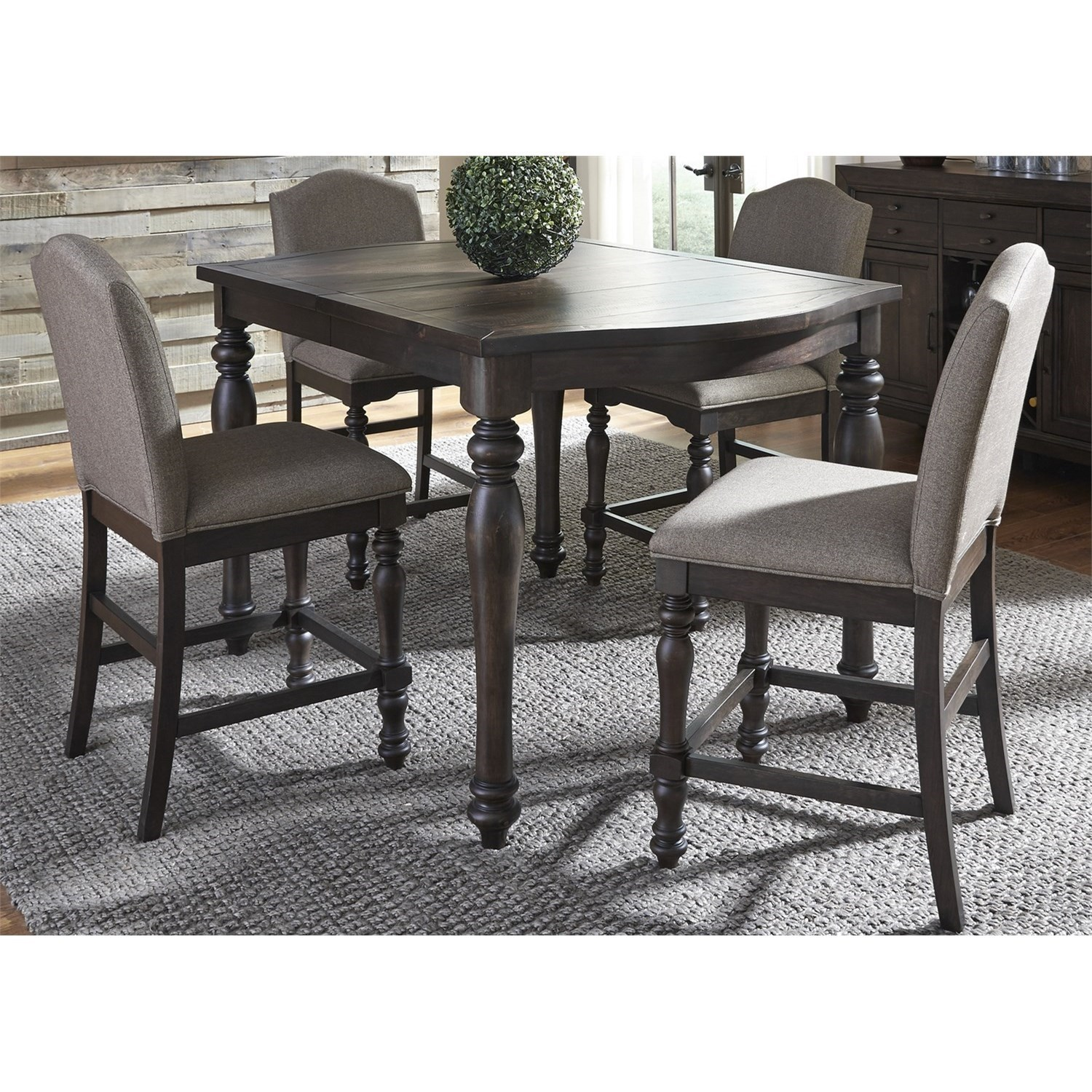 Liberty Furniture Catawba Hills Dining 5 Piece Gathering Table Set  sc 1 st  Adcock Furniture & Liberty Furniture Catawba Hills Dining 5 Piece Gathering Table Set ...