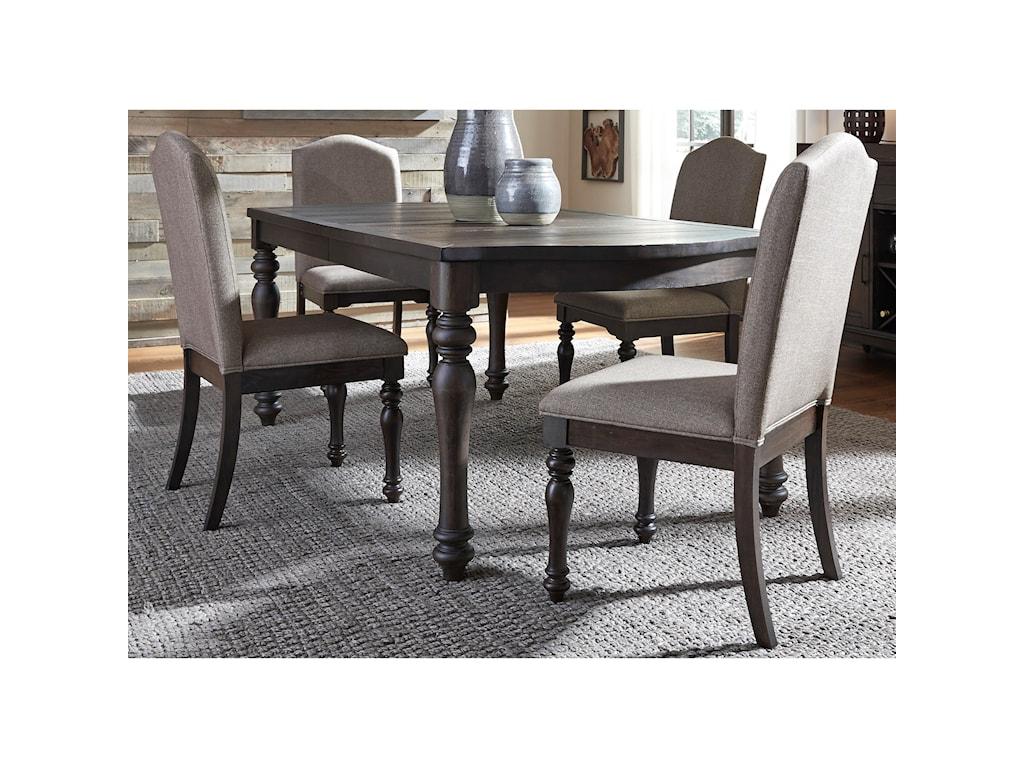 Liberty Furniture Catawba Hills Dining5 Piece Table & Chair Set