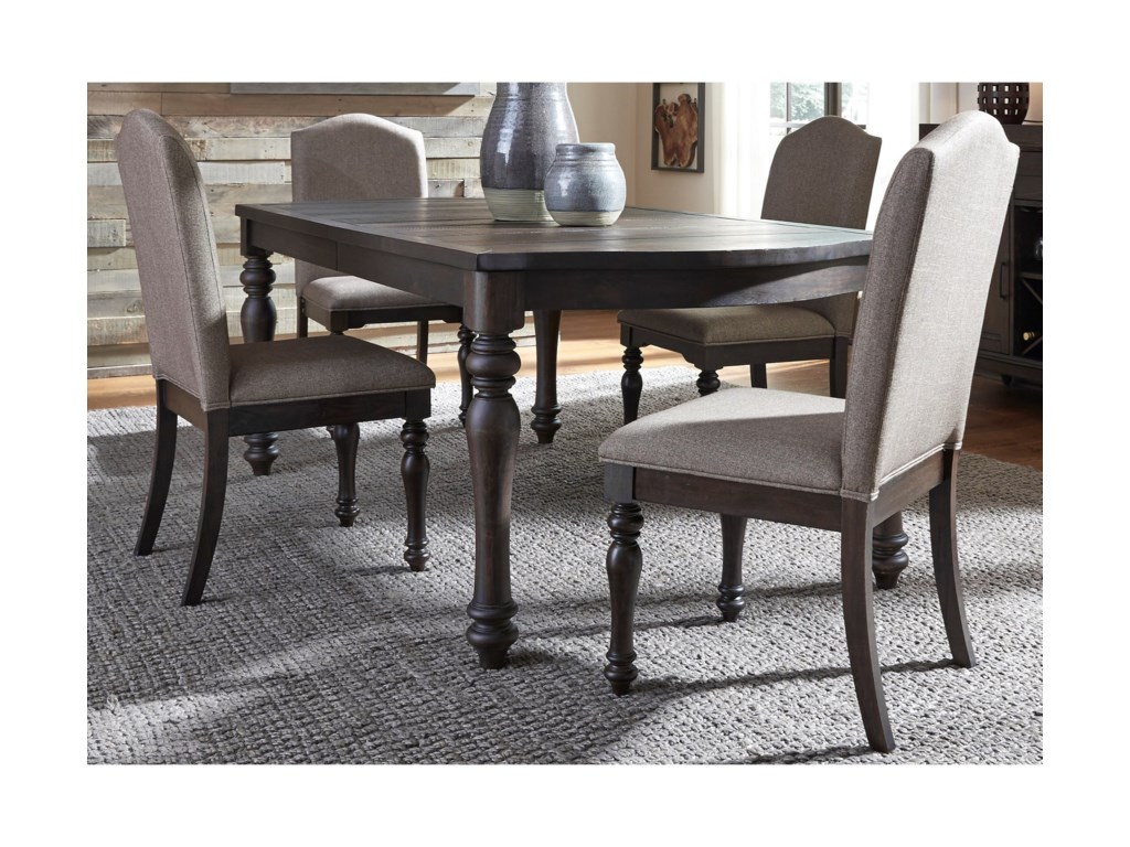 Liberty Furniture Catawba Hills Dining5 Piece Table & Chair Set