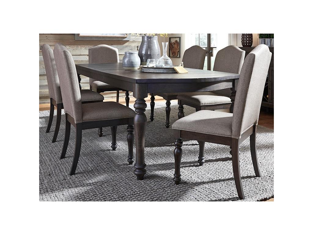Liberty Furniture Catawba Hills Dining7 Piece Table & Chair Set