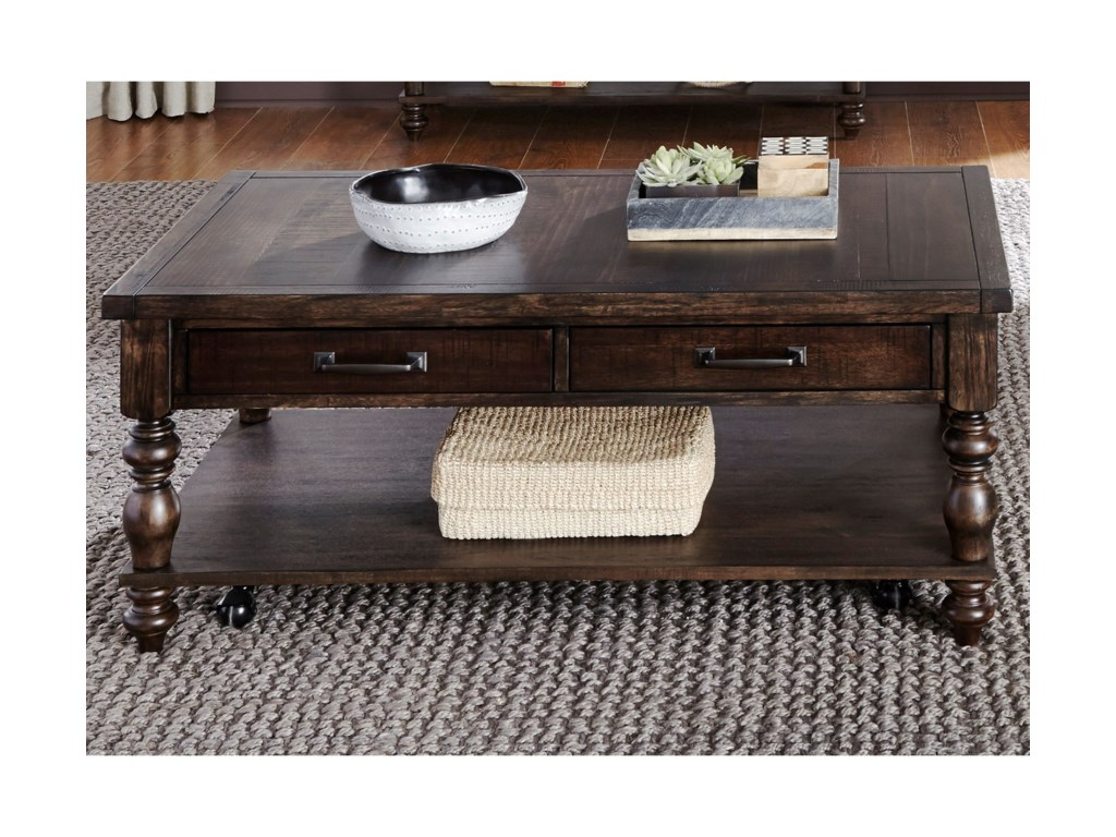 Liberty Furniture Catawba Hills OccassionalRectangular Cocktail Table