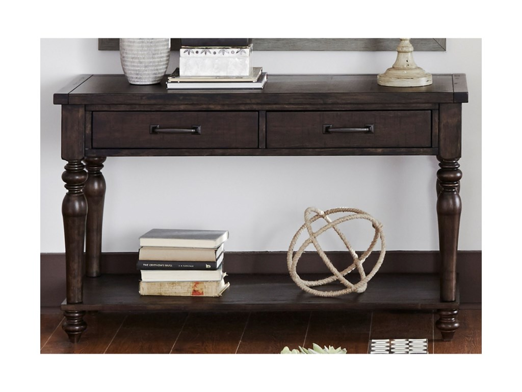 Liberty Furniture Catawba Hills OccassionalSofa Table