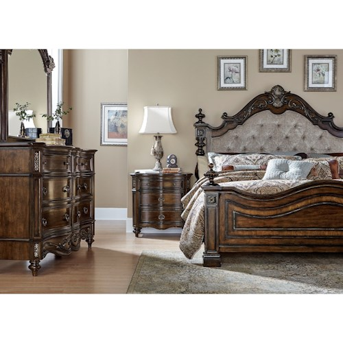 Liberty Furniture Chamberlain Court King Bedroom Group Wayside