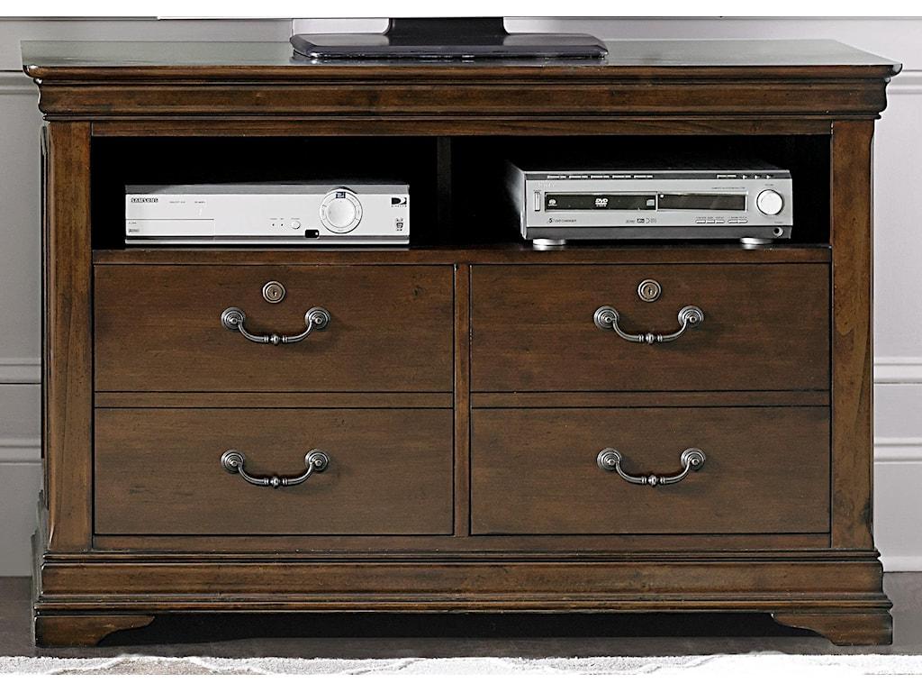 Liberty Furniture Chateau ValleyMedia File Cabinet
