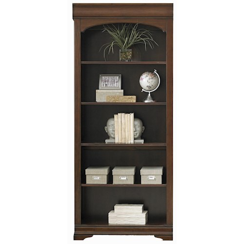 Liberty Furniture Chateau Valley Traditional 5 Shelf Bunching Bookcase