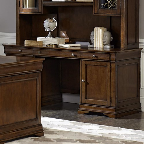 Liberty Furniture Chateau Valley Tradtional Jr Executive Credenza