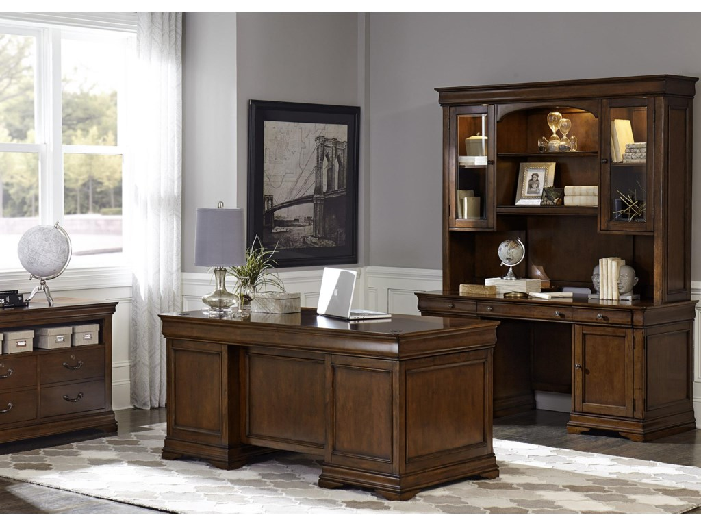 Liberty Furniture Chateau ValleyJr Executive Desk