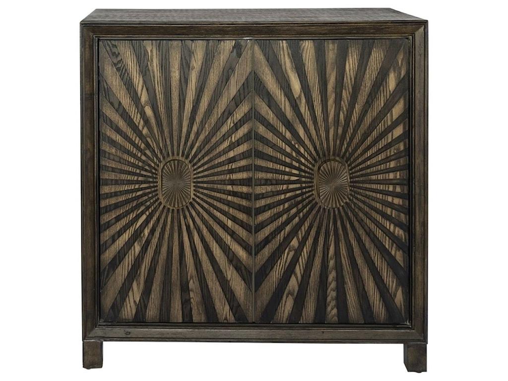 Liberty Furniture Chaucer2-Door Wine Accent Cabinet