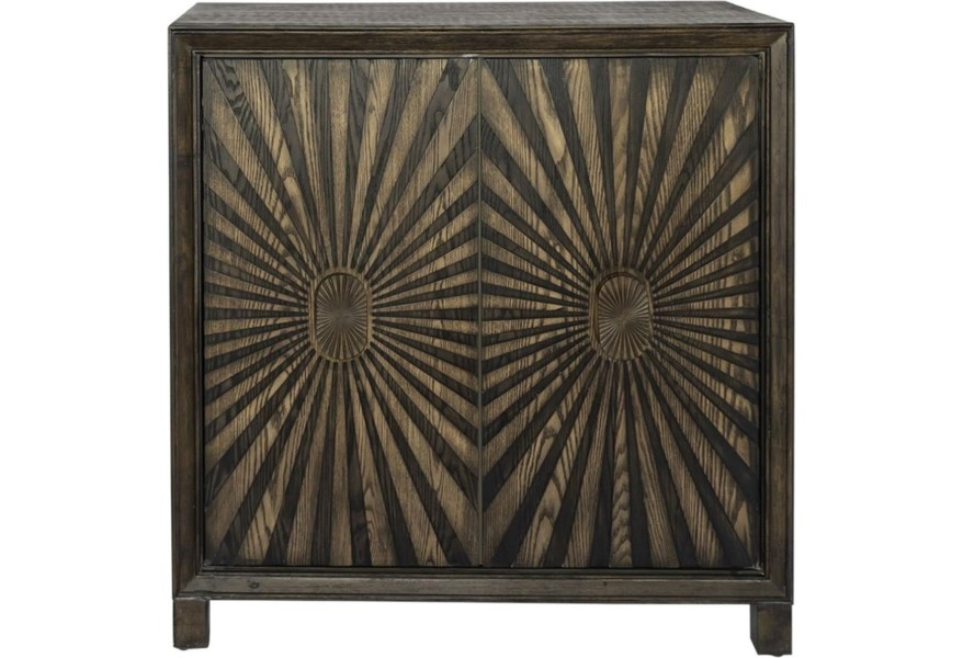 Liberty Furniture Chaucer Boho 2 Door Wine Accent Cabinet With 17 Bottle Rack Zak S Home Bar Cabinets