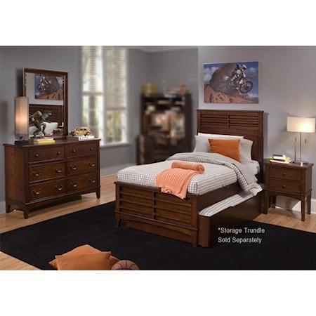 4PC Full Bedroom Set