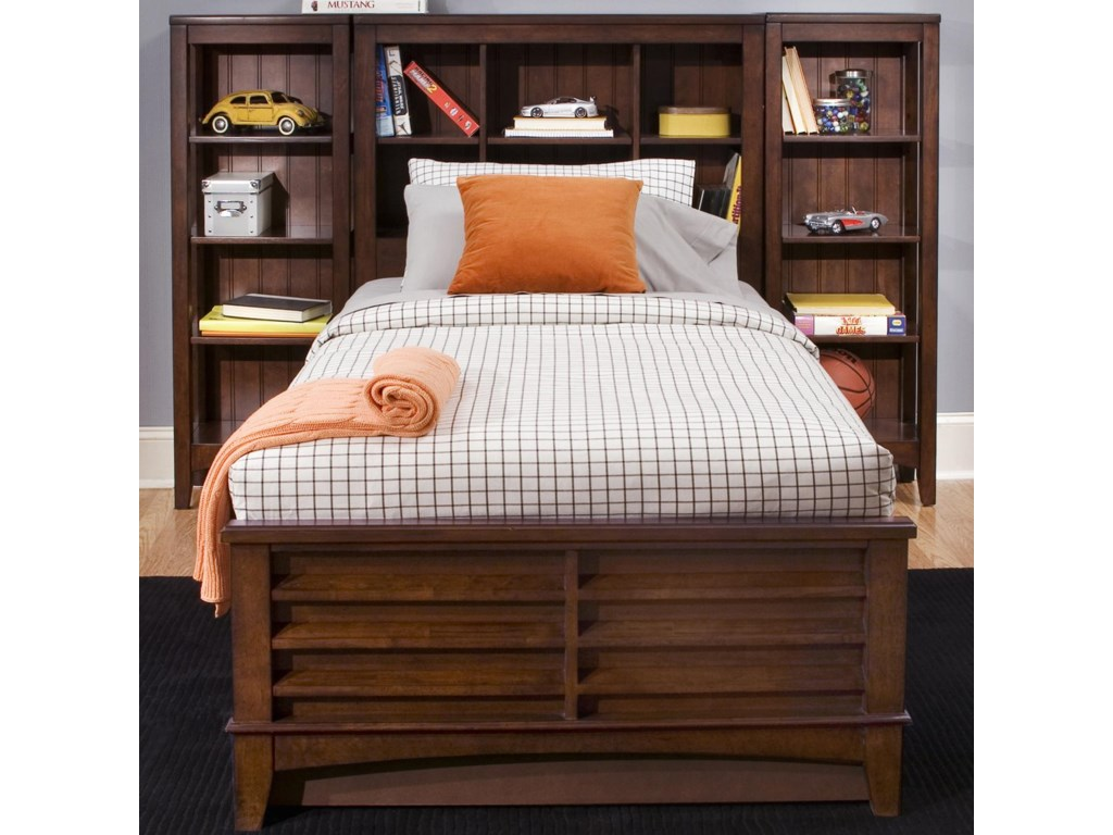 Shown with Bookcase Bed for Increased Storage