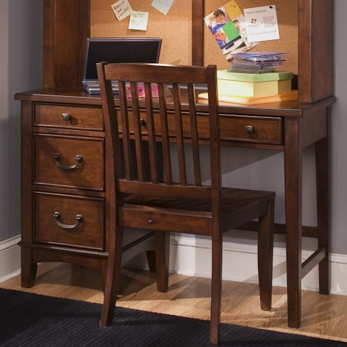 Liberty Furniture Chelsea Square Youth Single Pedestal Student Desk