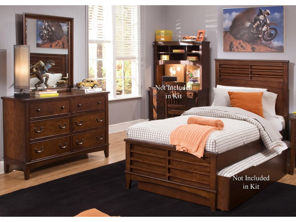 Liberty Furniture Chelsea Square YouthBedroom Group