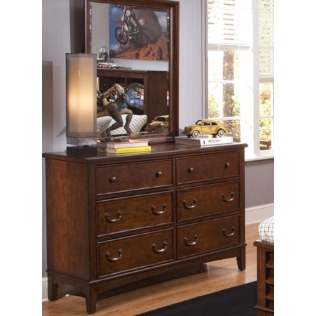 Dresser & Mirror Combination