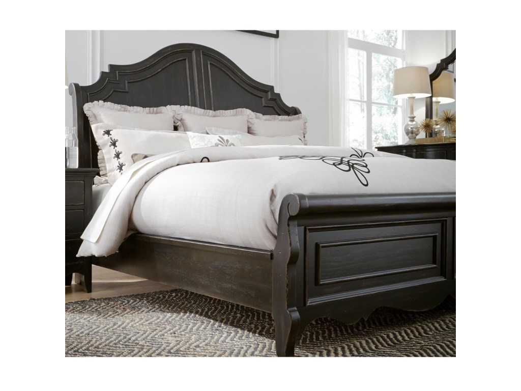Liberty Furniture ChesapeakeKing Sleigh Bed