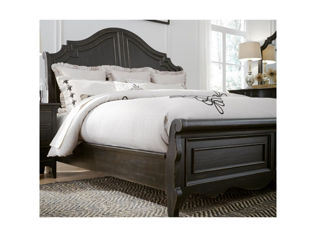 Liberty Furniture ChesapeakeQueen Sleigh Bed