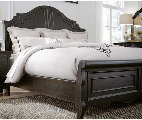 Ashley Furniture Chesapeake Va: Liberty Furniture Chesapeake 493-BR-QSL Queen Sleigh Bed