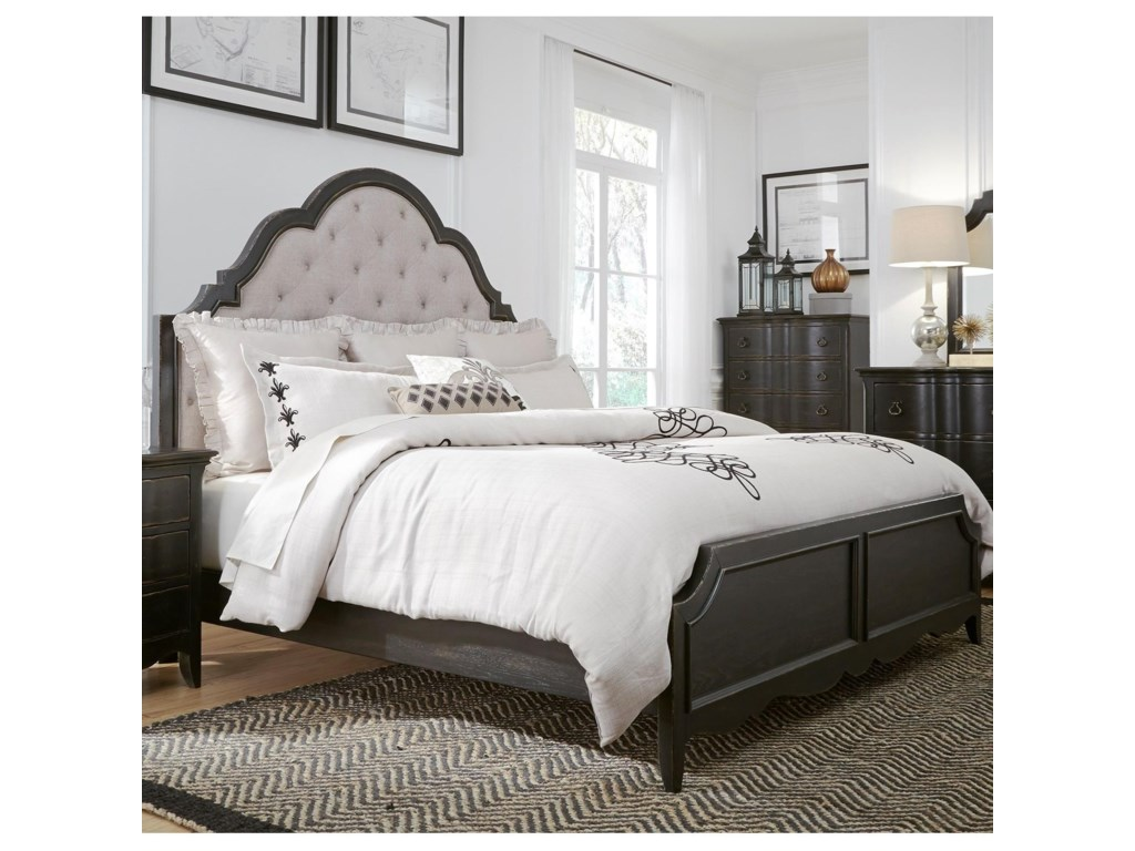 Liberty Furniture ChesapeakeQueen Upholstered Bed