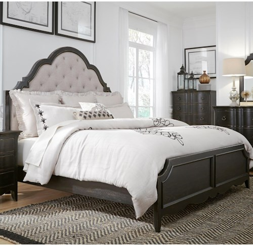 Liberty Furniture Chesapeake Relaxed Vintage Queen Upholstered Bed