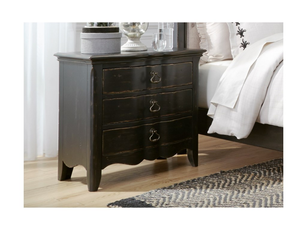 Liberty Furniture Chesapeake3-Drawer Nightstand