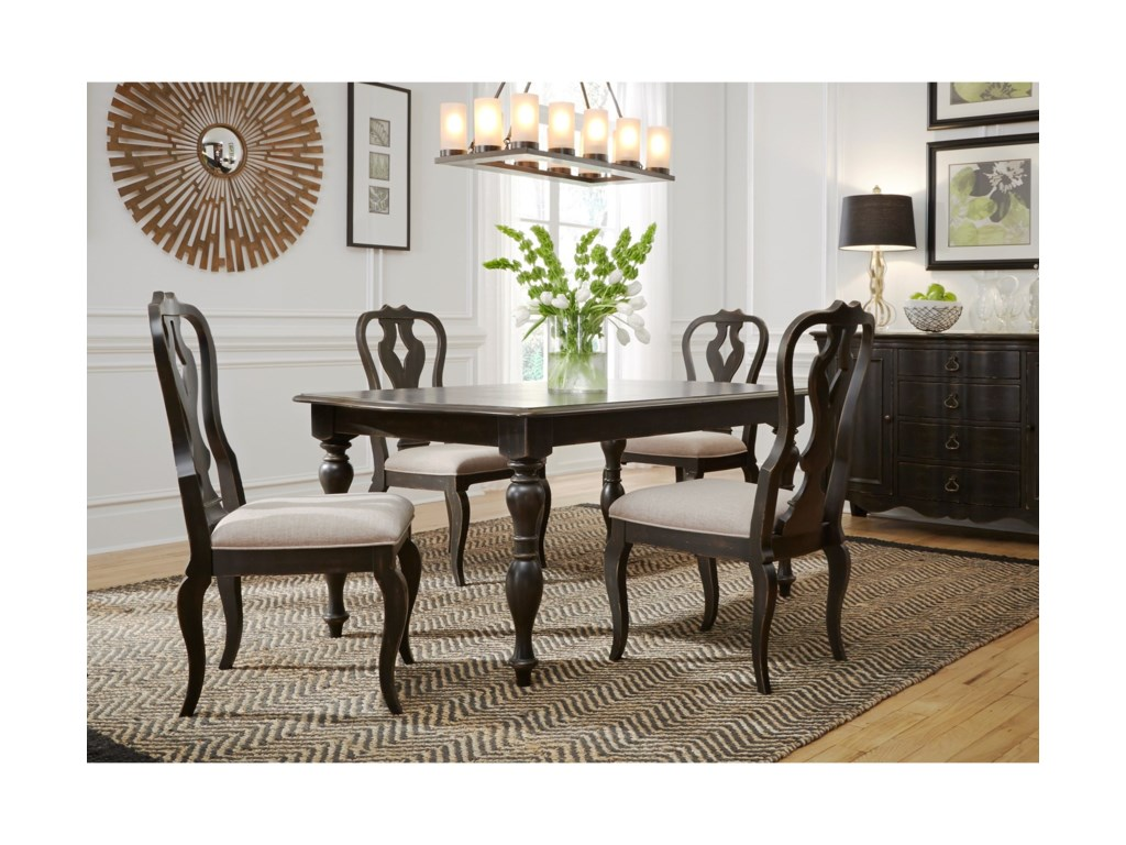 Liberty Furniture ChesapeakeRectangular Dining Table and Chair Set