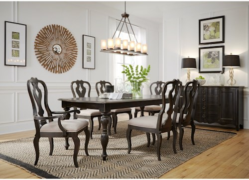 Liberty Furniture Chesapeake Relaxed Vintage Table and Chair Set