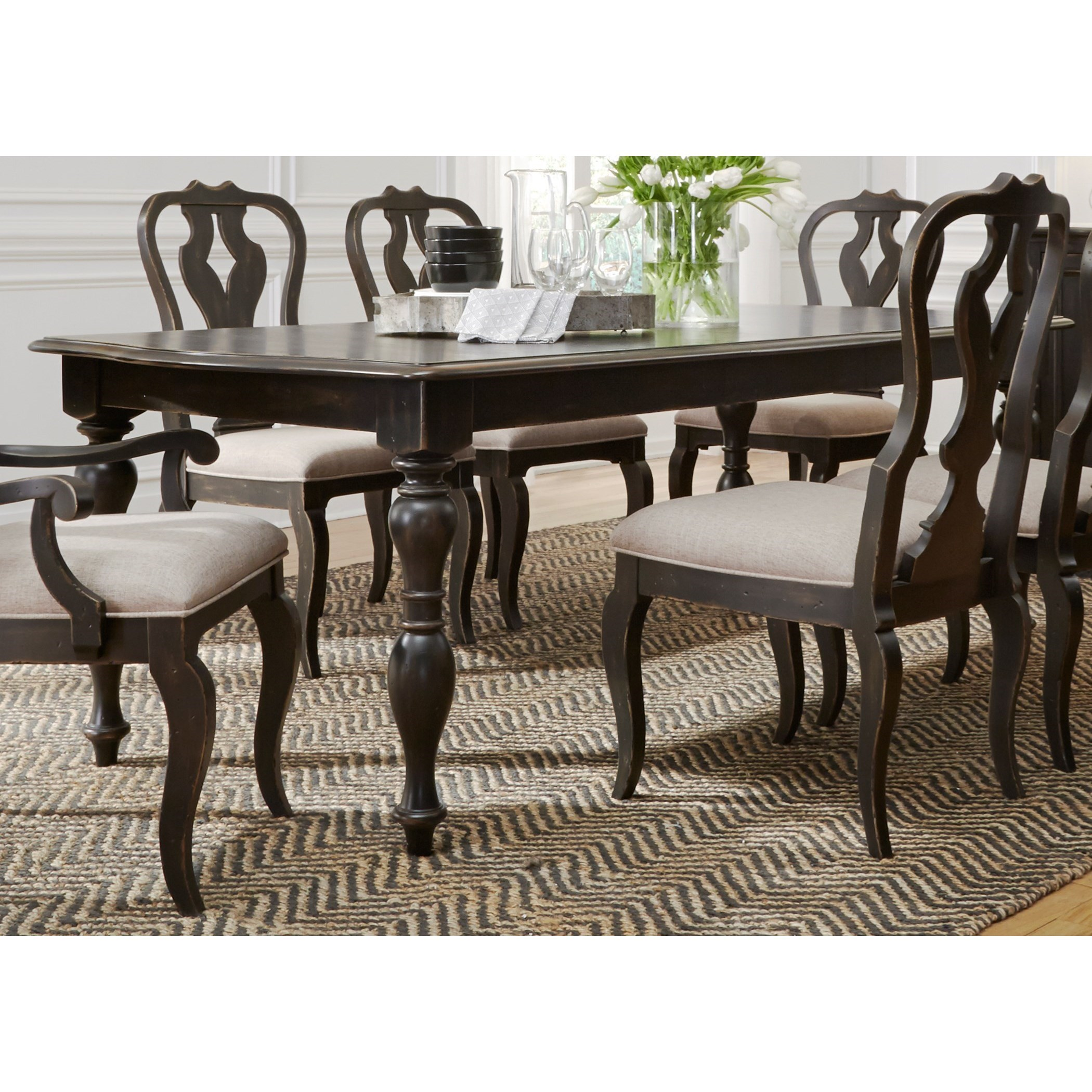 Liberty Furniture ChesapeakeRectangular Dining Table ...