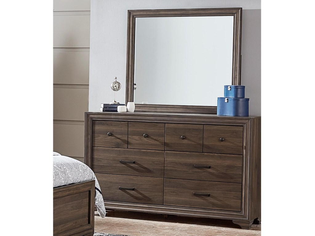 Liberty Furniture ClarksdaleDresser & Mirror