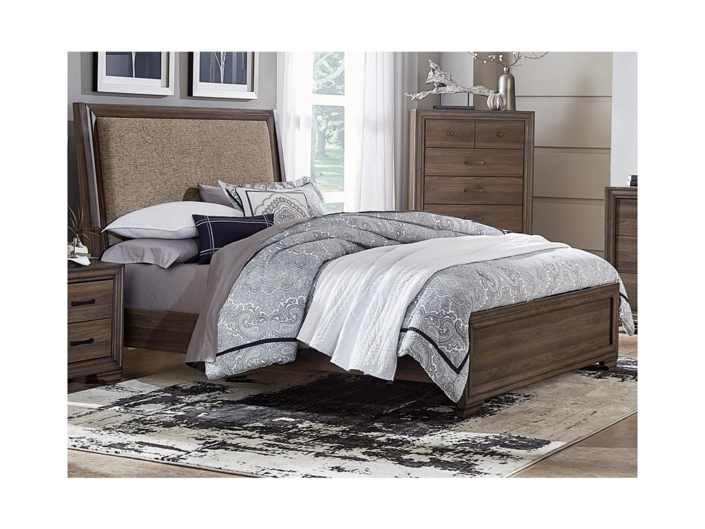 Liberty Furniture ClarksdaleFull Upholstered Bed
