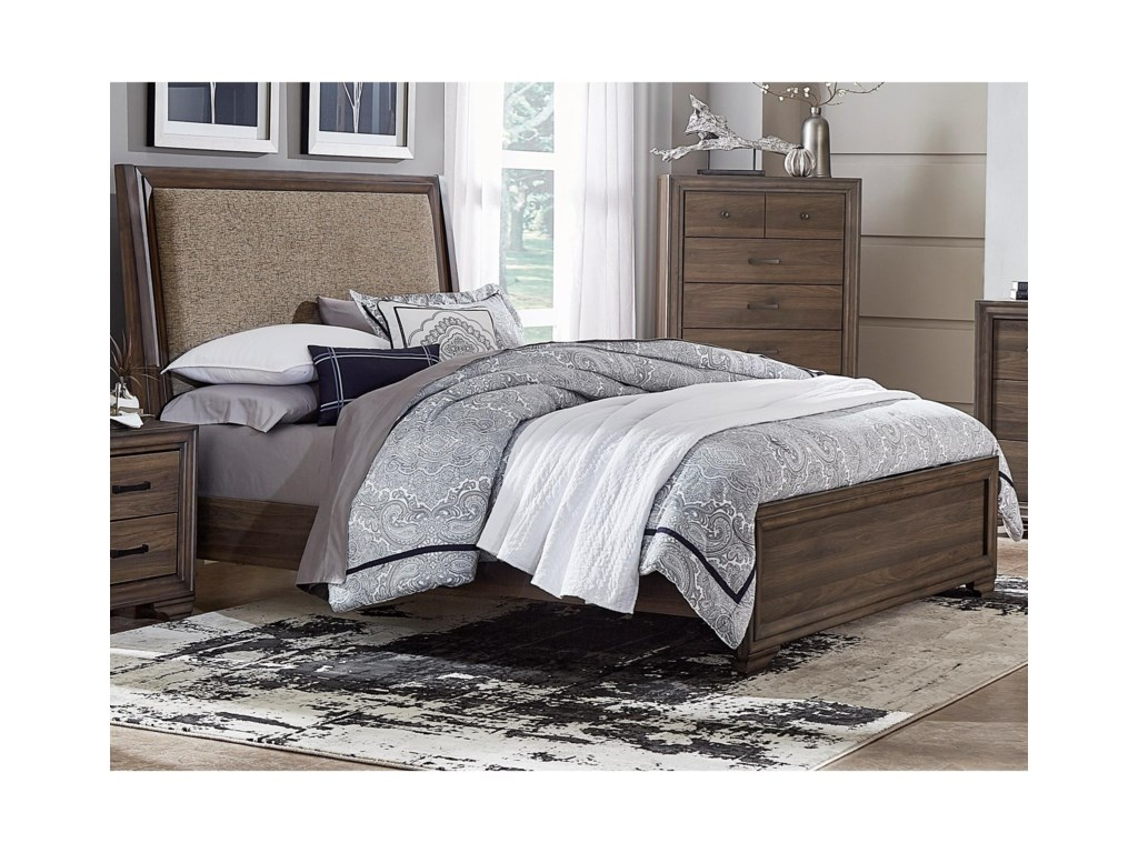 Liberty Furniture ClarksdaleKing Upholstered Bed