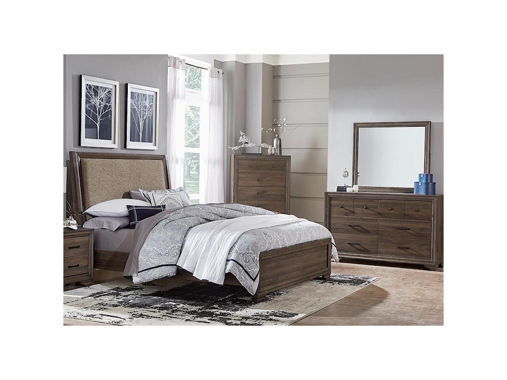 Liberty Furniture ClarksdaleQueen Bedroom Goup