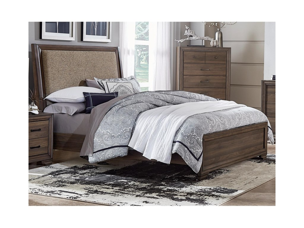 Liberty Furniture ClarksdaleTwin Upholstered Bed