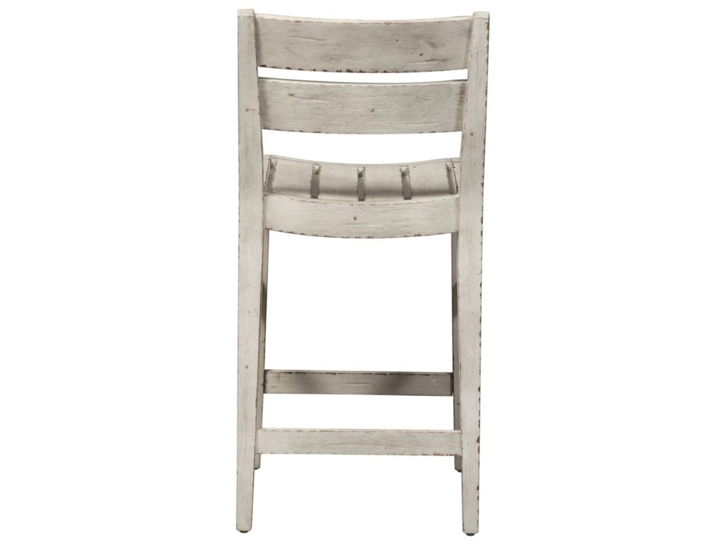 Liberty Furniture Color NookSlat Back Counter Height Chair