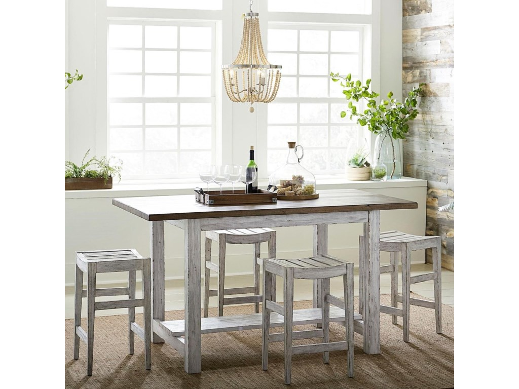 Liberty Furniture Color Nook5-Piece Gathering Table Set