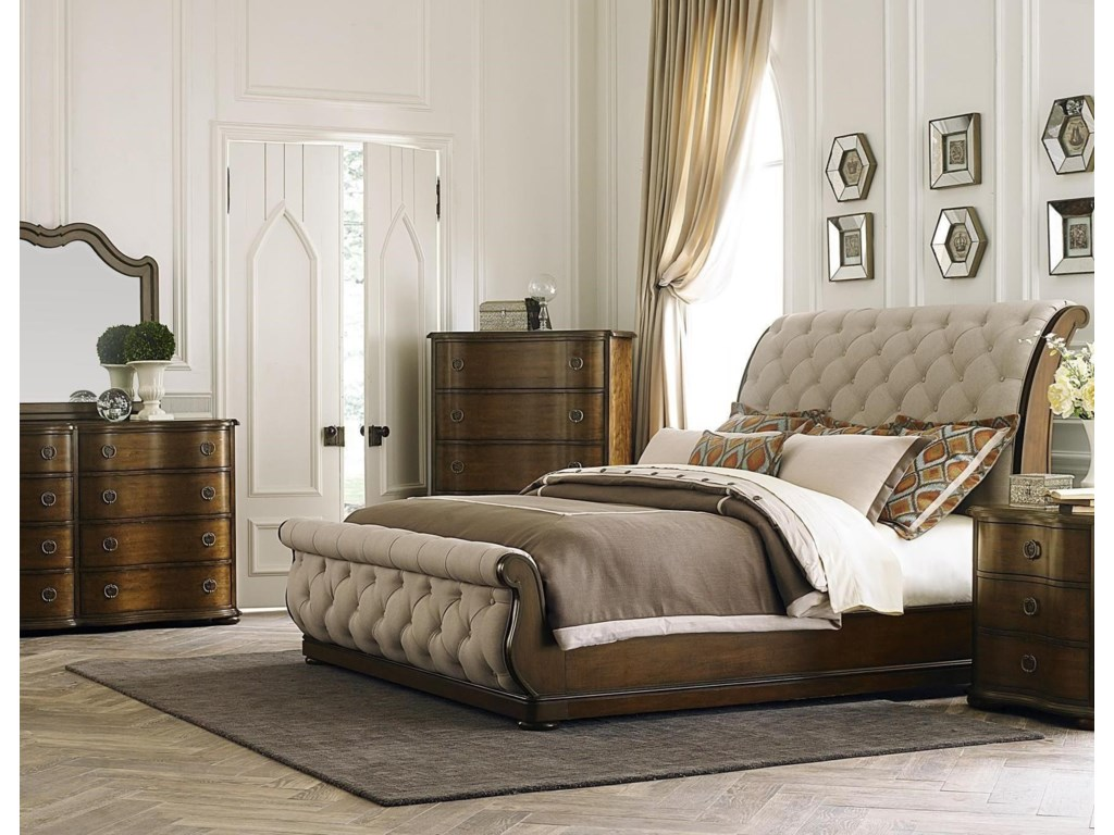Liberty Furniture Cotswold Queen 5 Piece Bedroom Group