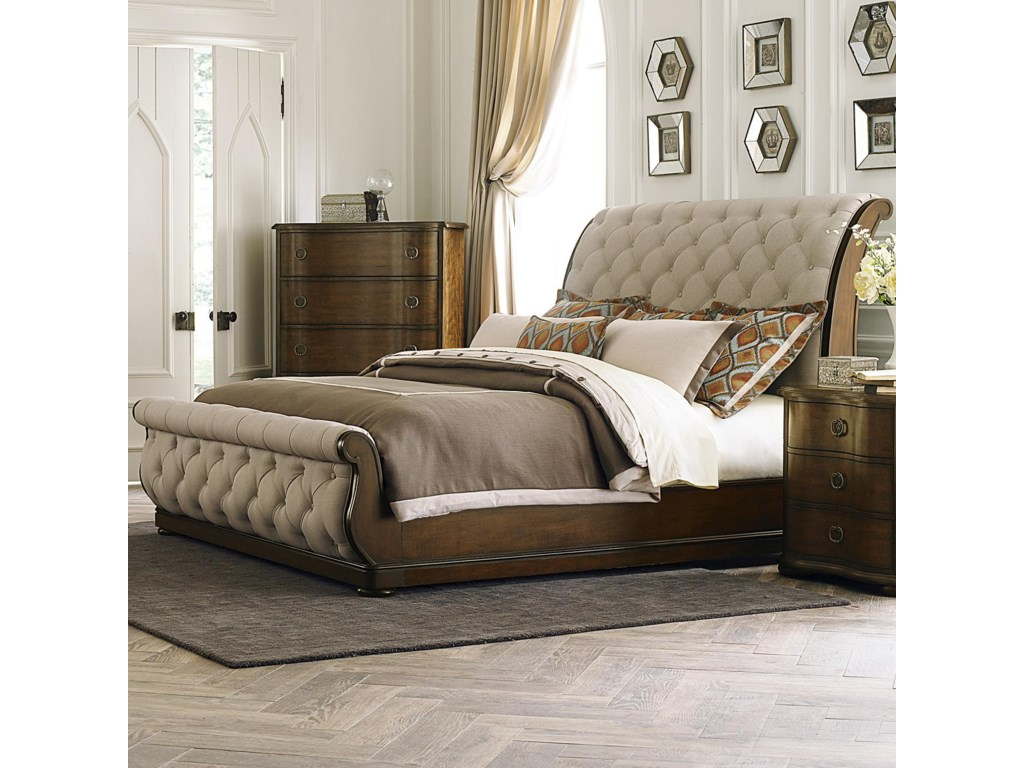 Furniture Bedroom Beds Queen Sleigh