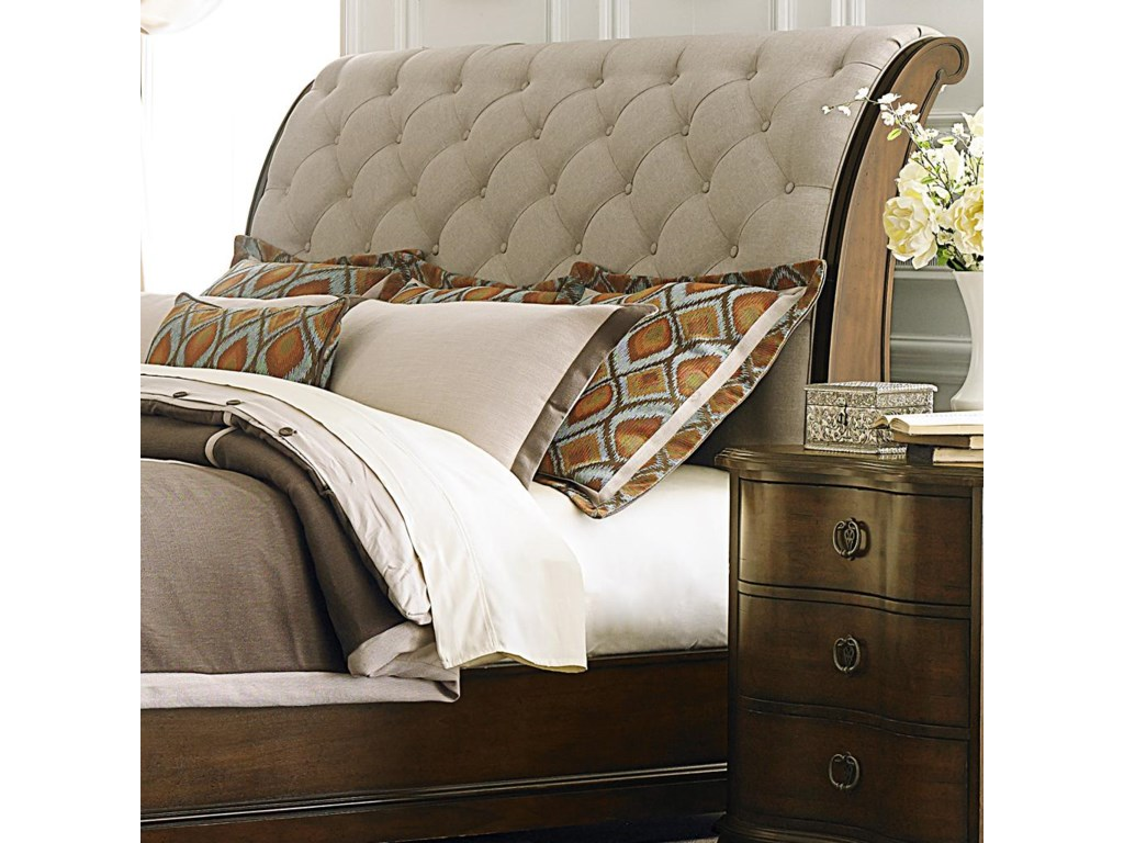 Liberty Furniture Cotswold Queen Upholstered Sleigh Headboard