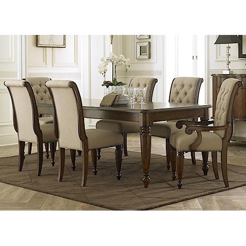 Liberty Furniture Cotswold  7 Piece Rectangular Table Set