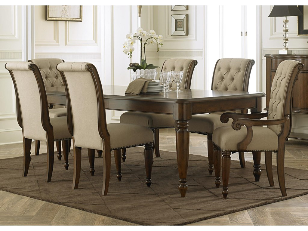 Liberty Furniture Cotswold 7 Piece Rectangular Table Set Suburban
