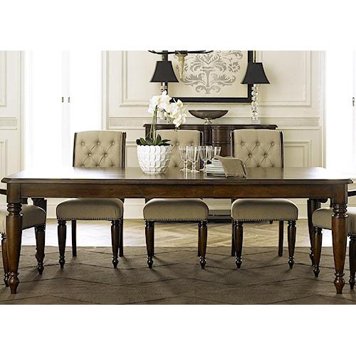 Liberty Furniture Cotswold  Transitional Rectangular Leg Table