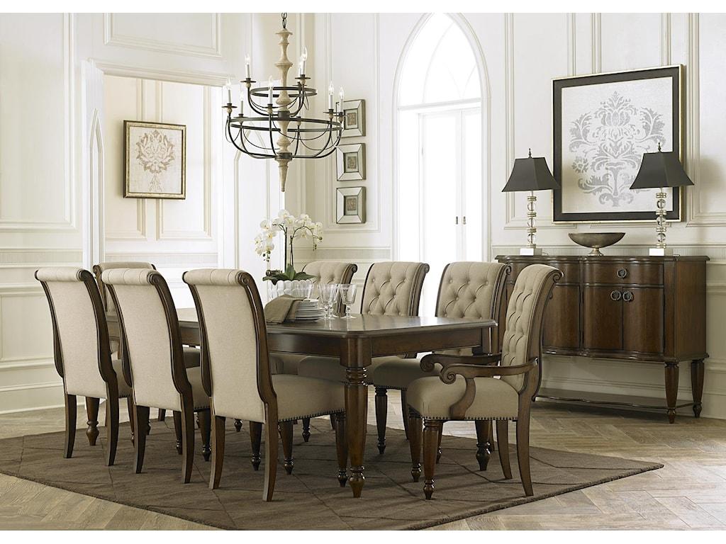 Liberty Furniture Cotswold Rectangular Leg Table