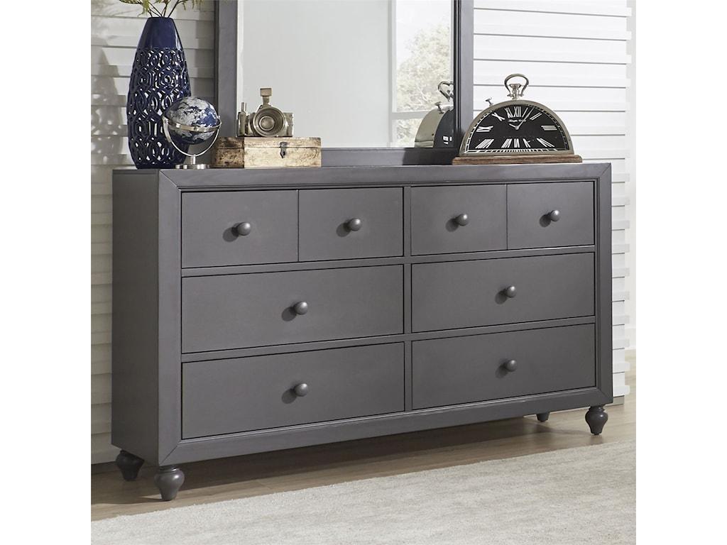 Vendor 5349 Cottage View6 Drawer Dresser