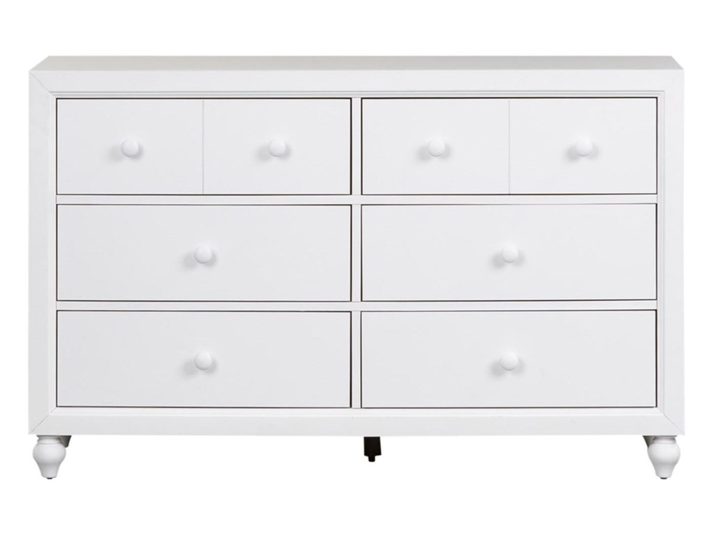 Liberty Furniture Cottage View6 Drawer Dresser