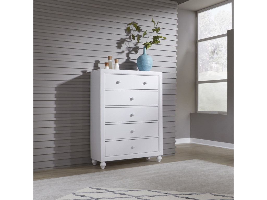 Liberty Furniture Cottage View5 Drawer Chest