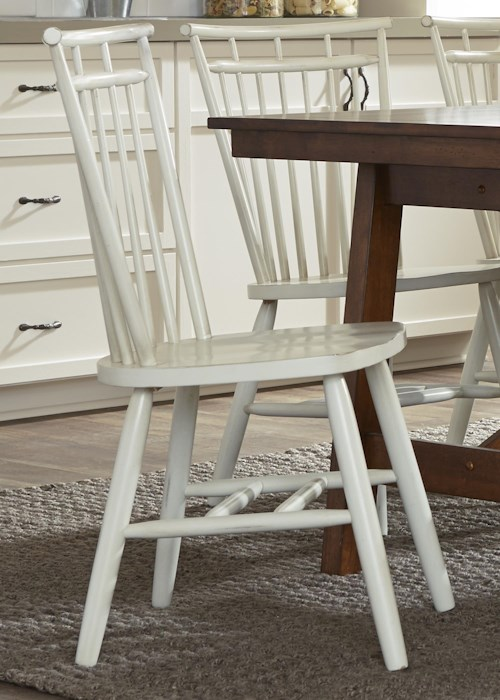 Liberty Furniture 38-CD Spindle Back Side Chair