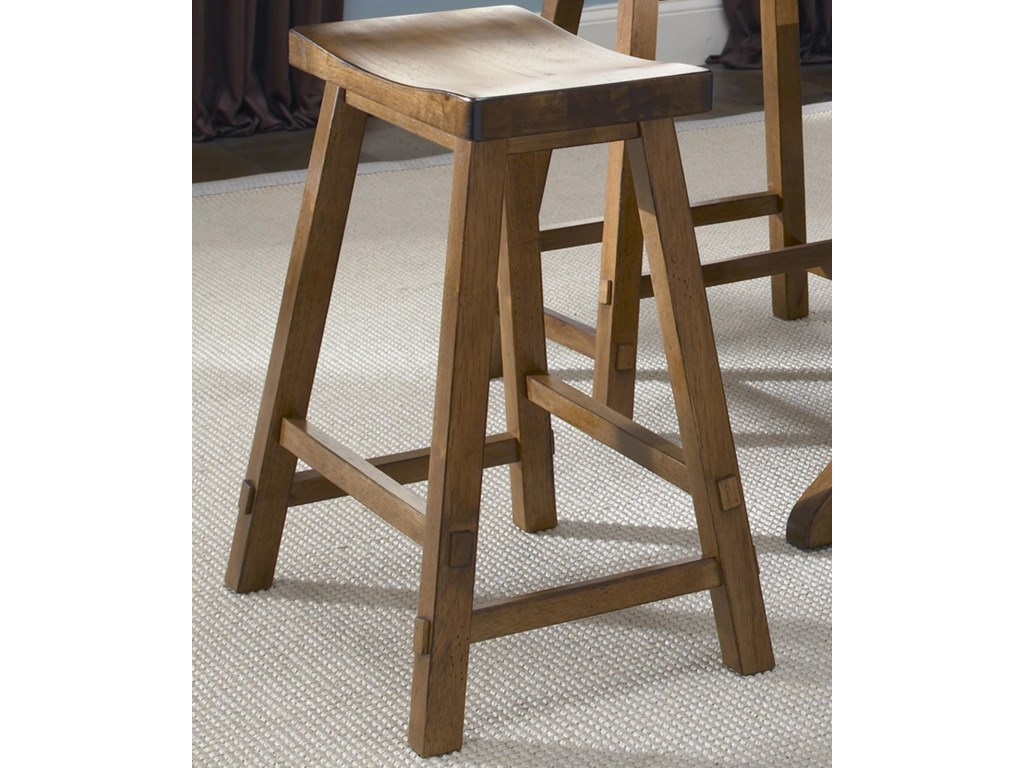 Liberty Furniture Creations II30 Inch Sawhorse Barstool