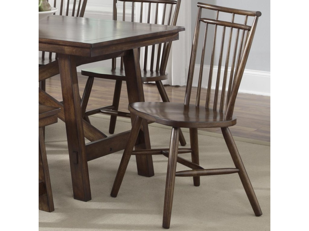 Liberty Furniture Creations IISpindle Back Side Chair