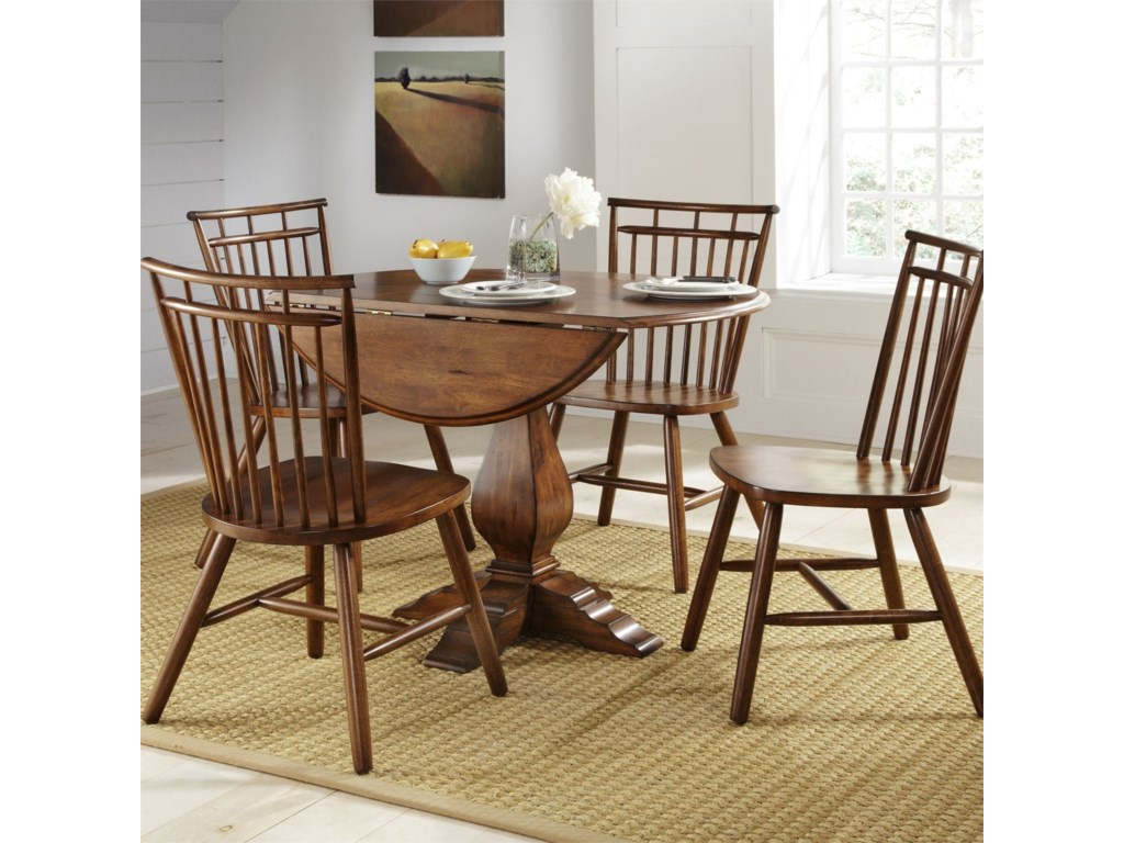 Liberty Furniture Creations II5 Piece Dining Table and Chair Set